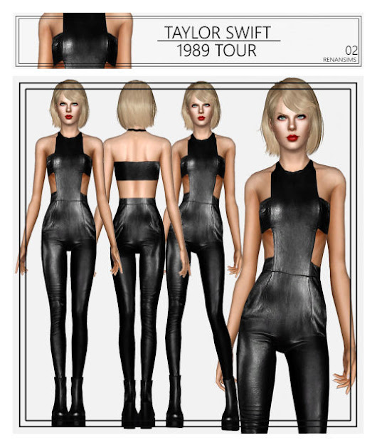 S3 Taylor Swift \ 1989 Tour Collection 02 - By RenanSims