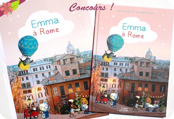 Concours Emma à Rome - Belin jeunesse