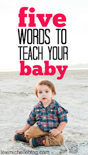 5 essential first words to teach your baby that will help them communicate and reduce temper tantrums