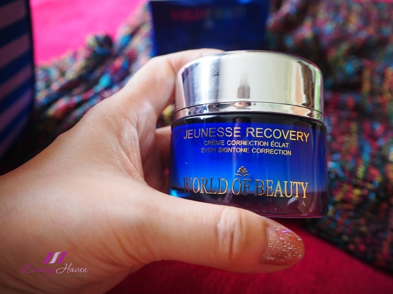 world of beauty advanced day night recovery cream
