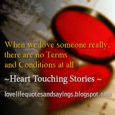 When We Love Someone Really.. - Love Quotes and Sayings