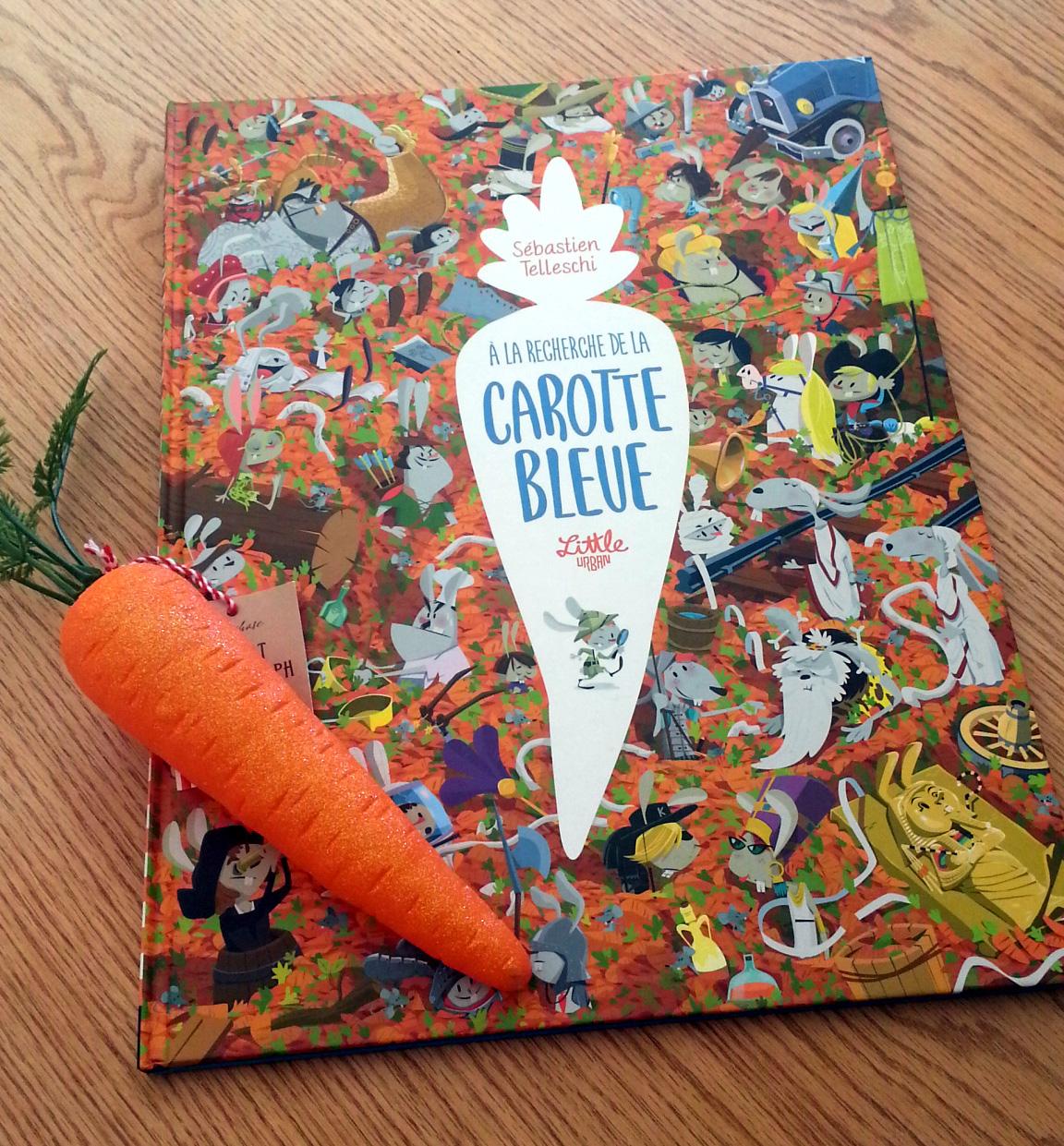 """Carotte Bleue en ce qui concerne la petite bibliothèque de la bottière: livre jeu, """"a la recherche de"""