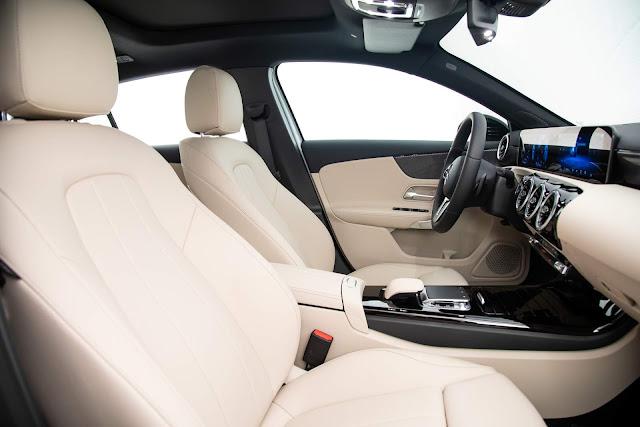 Mercedes-Benz A250 Vision 2019 - interior