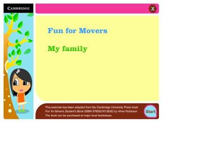 Resultado de imagen de http://cdextras.cambridge.org/funfor/activities/movers_my_family/index.htm