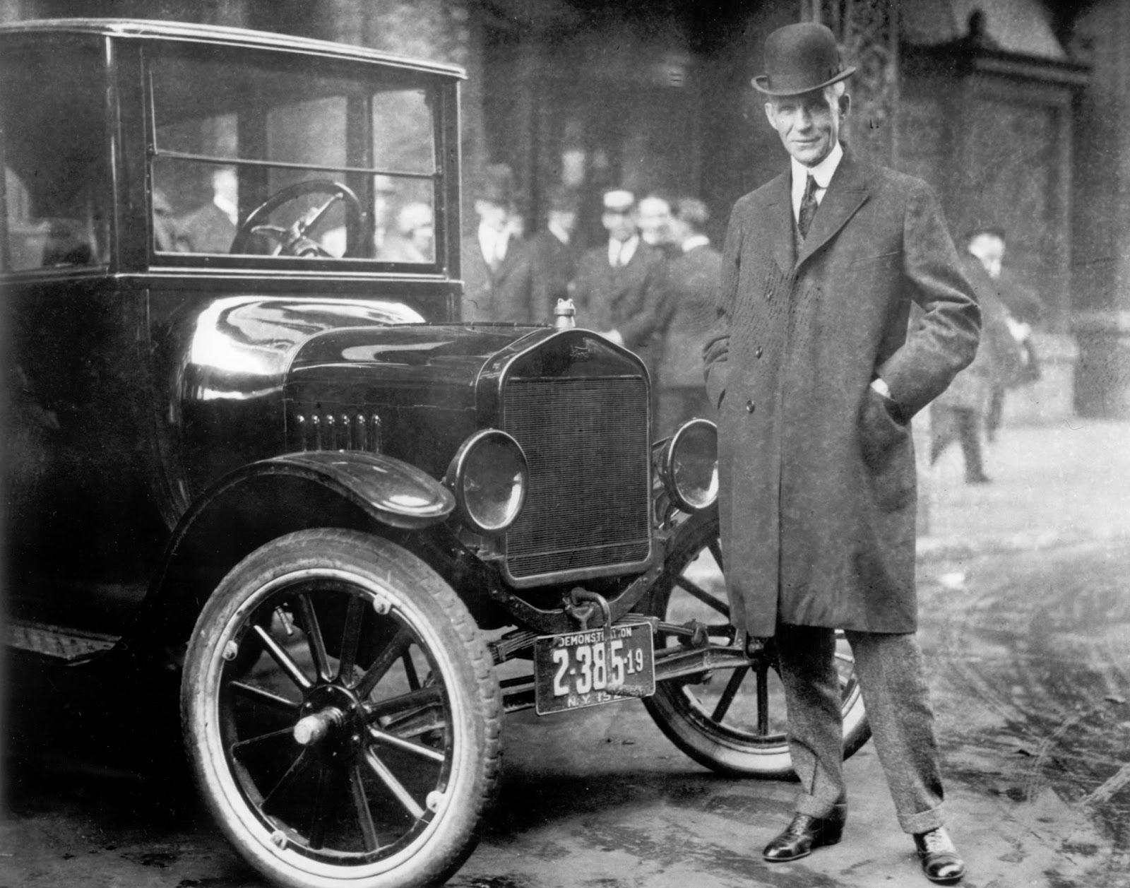O%2Bhenry%2Bford Όταν ο Henry Ford, έφτιαξε το πρώτο του μοτέρ, μέσα σε έναν νεροχύτη Ford, Henry Ford, zblog