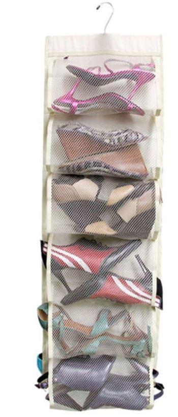 Contoh Rak Sepatu Plastik gantung yang cantik