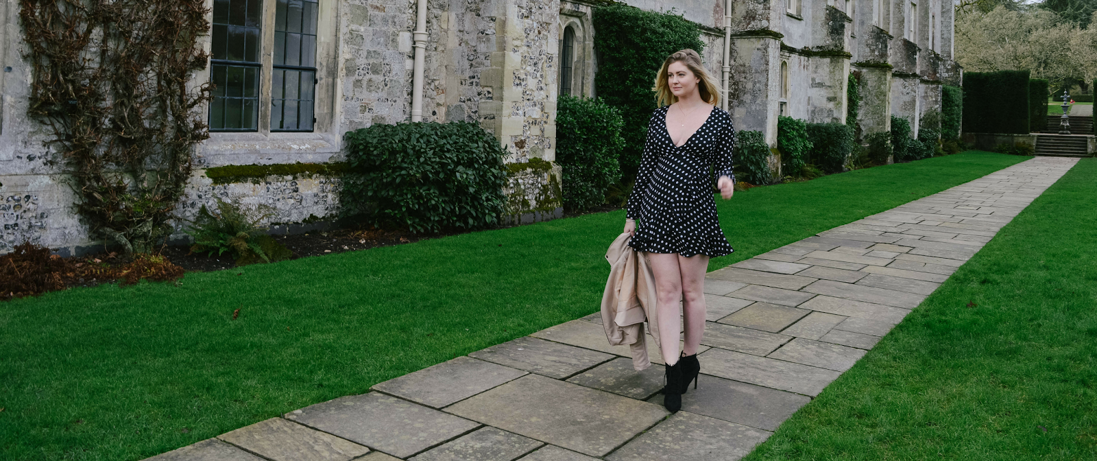Tips On How To Be Positive In January, SheIn style dress, Dalry Rose blog, fashion blog UK