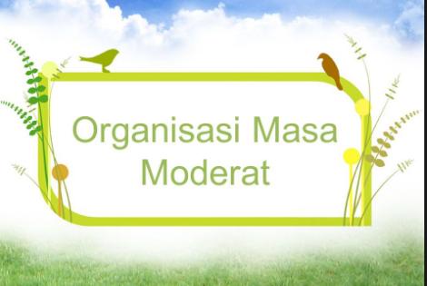 Organisasi Pergerakan Nasional Pada Masa Moderat Terlengkap