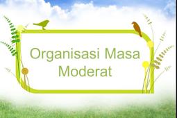 Organisasi Pergerakan Nasional Pada Masa Moderat