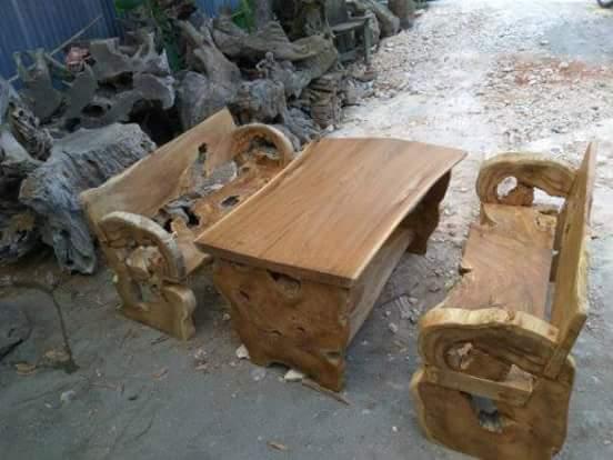 desain furniture unik dari kayu jati