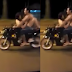 Semi-Naked Couple Caught On Camera Having Sex While Riding Motorbike In The Middle Of Busy Road
