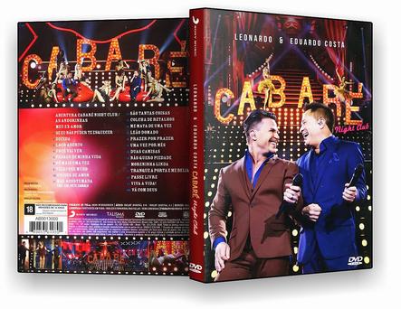 CAPA DVD – Leonardo & Eduardo Costa – Cabaré Night Club – DVD-R