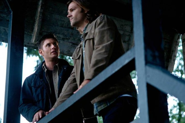"Recap/review of Supernatural 8x01 ""We Need To Talk About Kevin"" by freshfromthe.com"