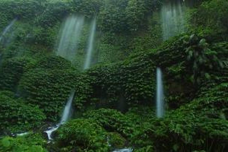 Daftar Air Terjun Terindah di Lombok NTB