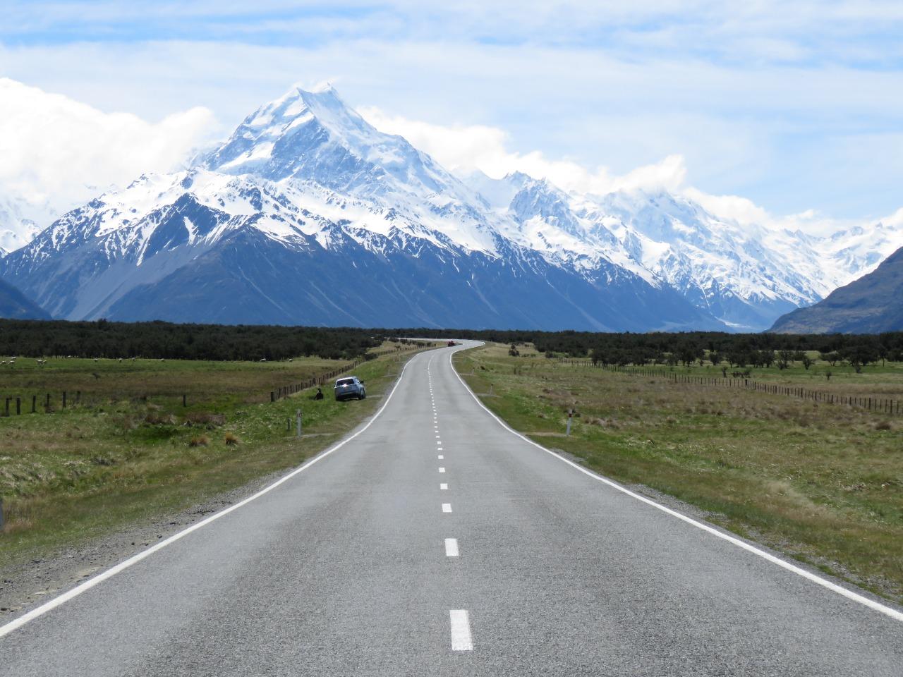 Relato de viagem de motorhome pela Nova Zelândia: Dias 30 e 31 - Monte Cook