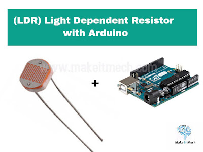 how to use light dependent resistor with arduino
