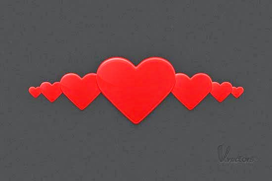 Quick Tip: How to Create a Heart Illustration without the Pen Tool