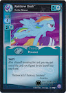 My Little Pony Rainbow Dash, To the Rescue Premiere CCG Card