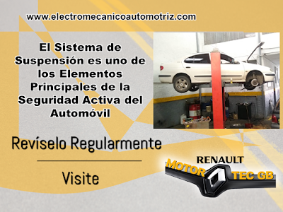Mantenimiento Sistema de Suspension Renault