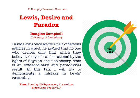 University of Canterbury Philosophy Research Seminar Series