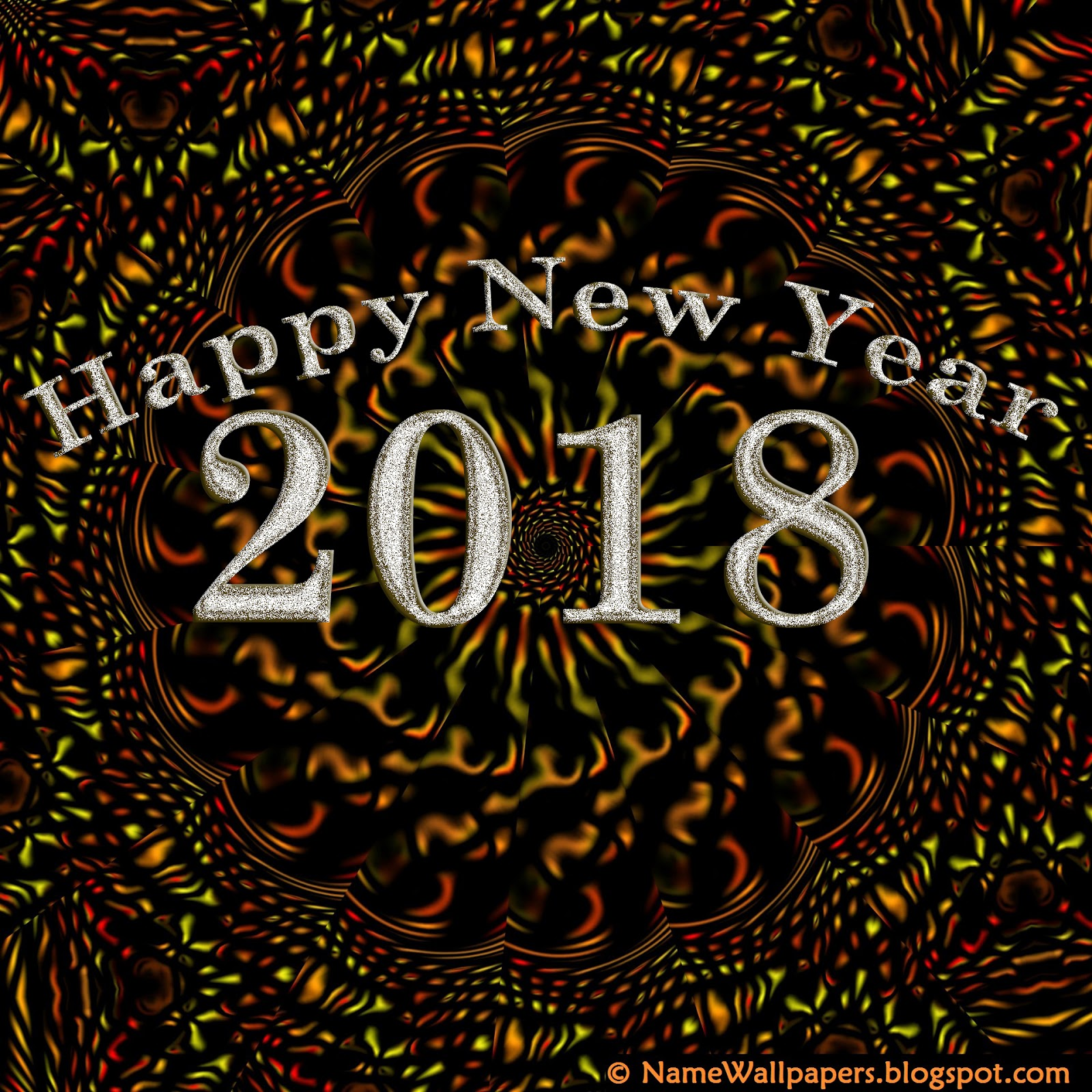 Happy New Year 2018 Wallpapers HD Images Pictures 2018 ...