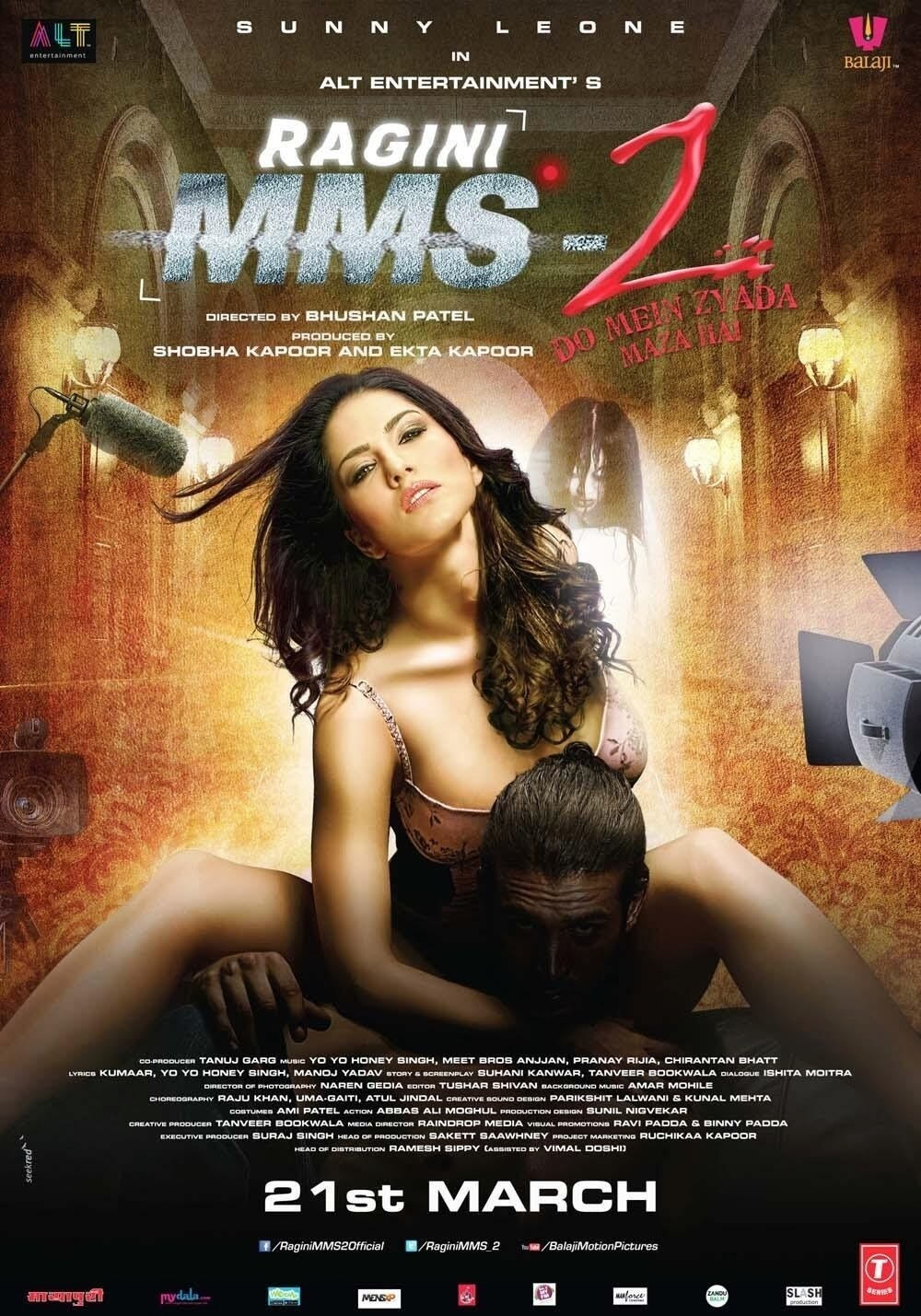 Ragini MMS 2 (2014) Hindi 720p Blu-Ray x264 5.1 ESubs