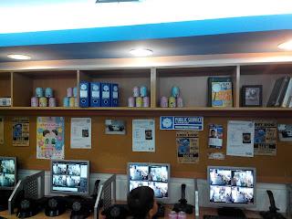Ruang analisa kasus di Police Station Kidzania Jakarta