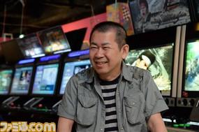 Yu Suzuki interview photo
