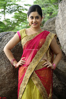 Actress Ronika in Red Saree ~  Exclusive celebrities galleries 034.JPG