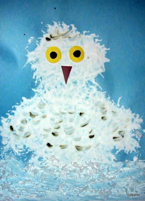 Tippytoe Crafts: Snowy Owls - photo#18