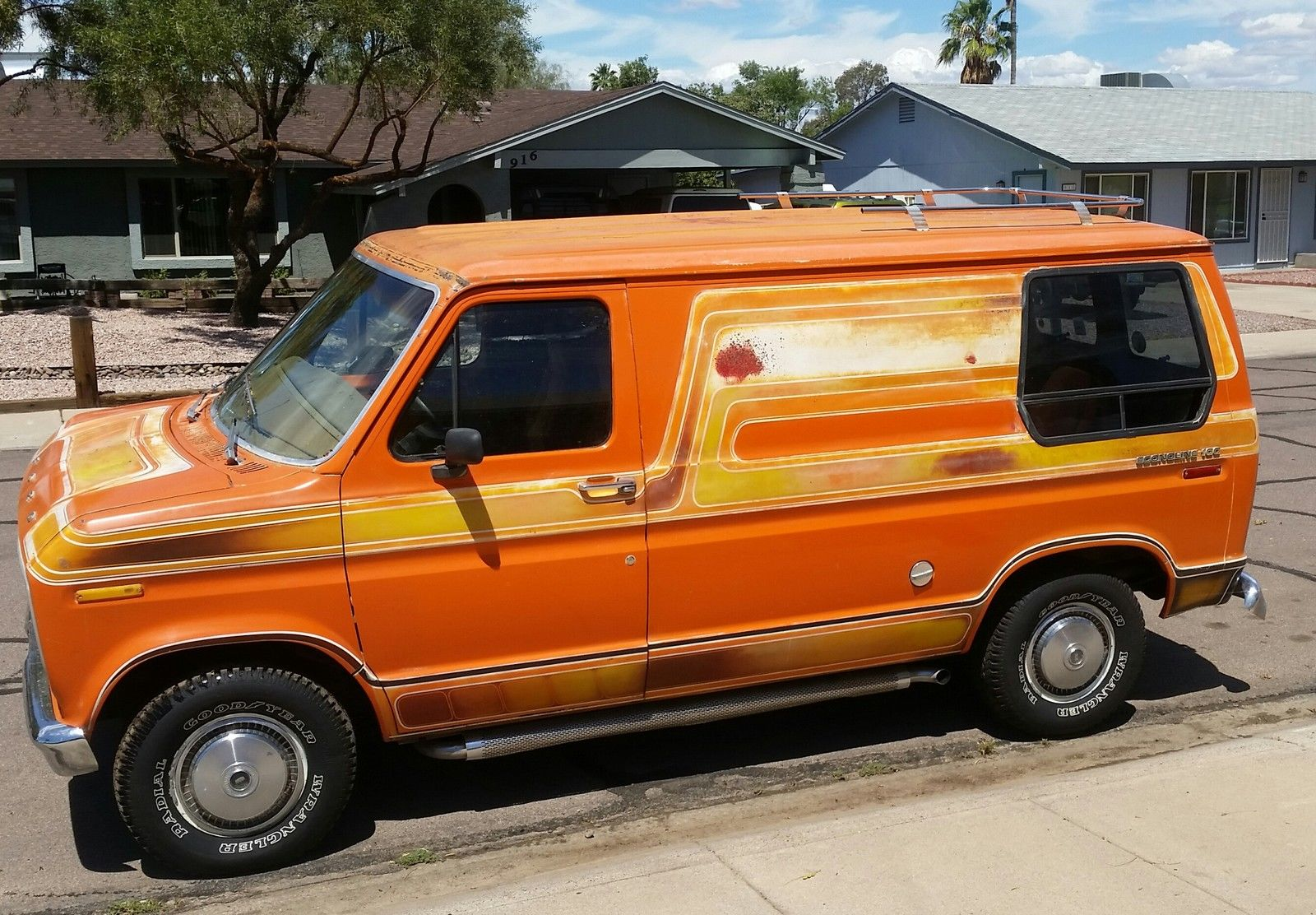 daily turismo auction watch 1976 ford e series van. Black Bedroom Furniture Sets. Home Design Ideas