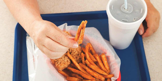 fastfood ve kola