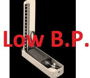 image showing Low BP machine