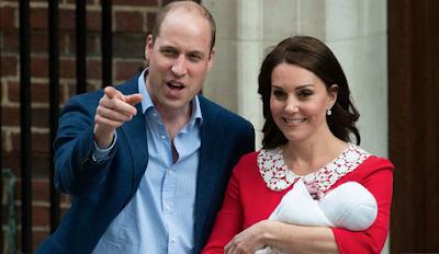 Duke & Duchess Of Cambridge Name Baby - Image ~ Naijabang