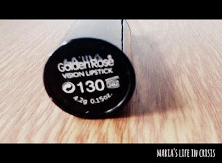 vision lipstick 130