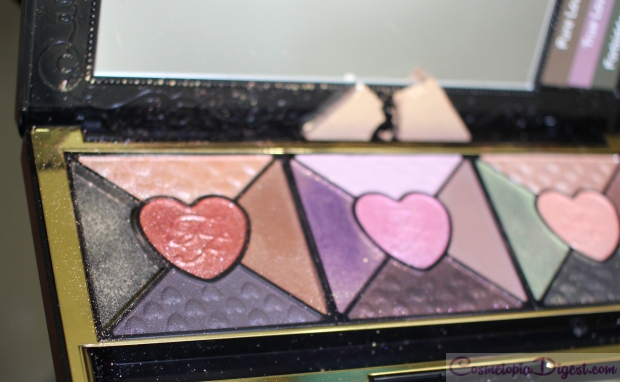 Too Faced Love Eyeshadow Palette Review, Swatches, EOTD