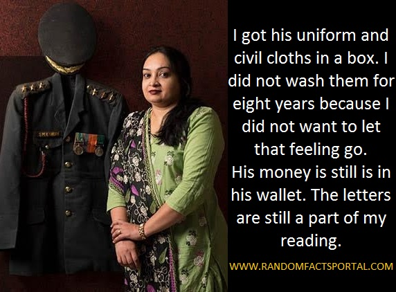 'I Never Imagined A Day When He Wouldn't Be Around': This Army Officer's Widow Strikes A Chord With Her Spirited Facebook Post