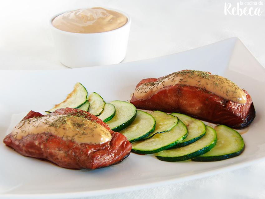 La cocina de rebeca salm n a baja temperatura cocinado for Cocina baja temperatura thermomix