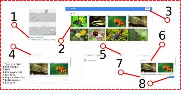 Cara Berbagi (Sharing) Foto dan Gambar Di Google Photos ...