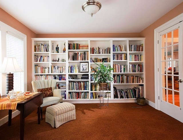 wall colors for home library