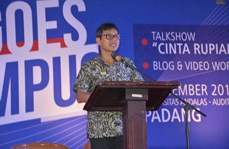 """Gubernur Irwan Dukung Vidio & Blog Competition dengan Tema """"Cinta Rupiah"""""""