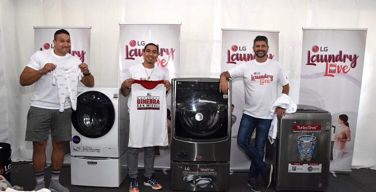 Alpha Males Do Laundry with LG Washers