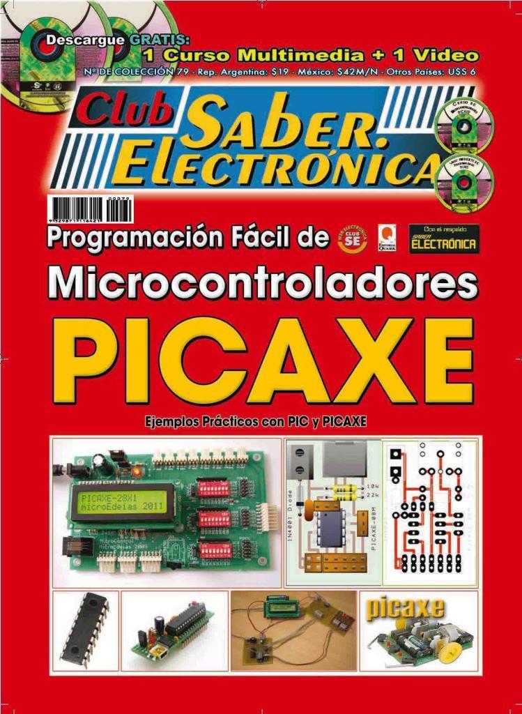 Club Saber Electrónica – Programación fácil de microcontroladores PICAXE