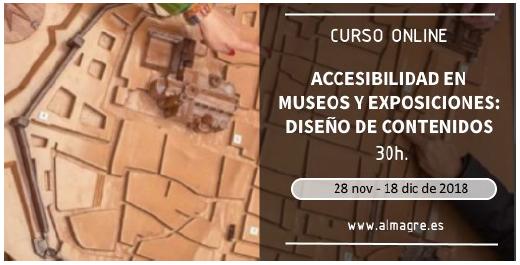Contenido escrito: 30 horas del 28 de noviembre al 18 de dicembre de 2018. www.almagre.es.