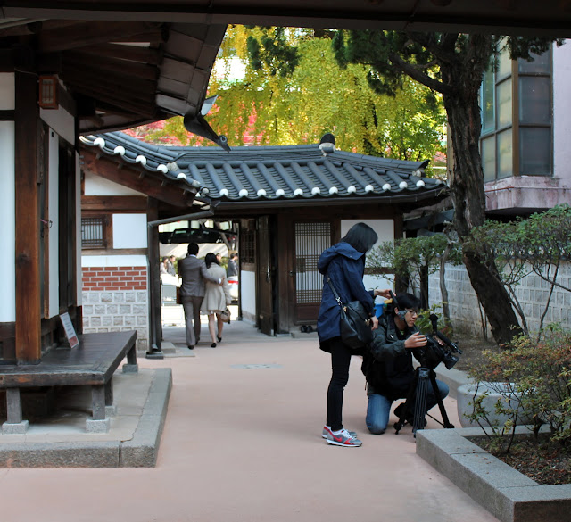 Hanok village in Seoul, Korea