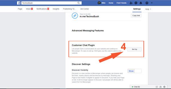 facebook chat widget