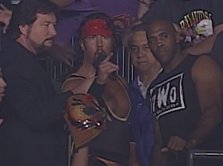 WCW HALLOWEEN HAVOC 96 REVIEW: Syxx defeated Chris Jericho due to Dodgy Referee