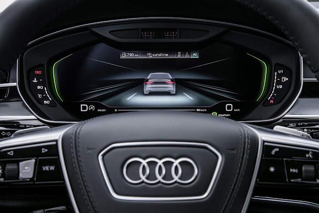 Novo Audi A8 2018 - condução autônoma nível 3