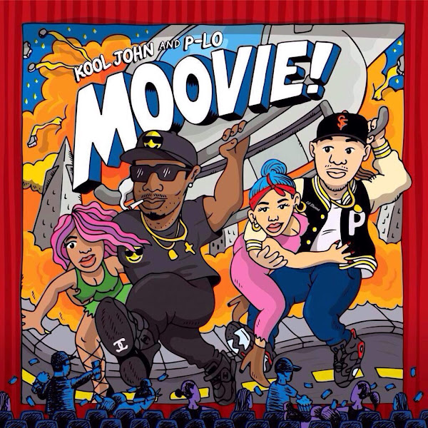 Kool John & P-LO - Moovie! Cover