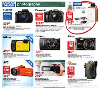London Drugs Camera Sale Valid Fri Aug 25 – Wed Aug 30